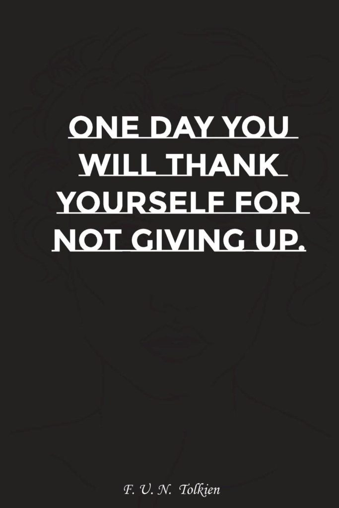 If You Give Up Quotes